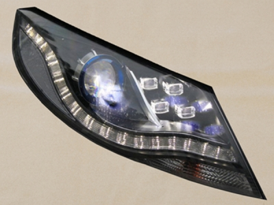 Headlight lens